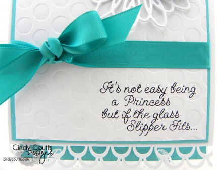 Glass Slipper Sentiment