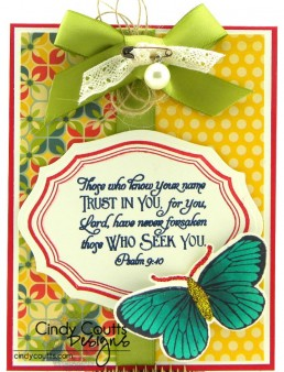 Our Daily Bread Designs, Cindy Coutts, Butterfly, Eternity, Scripture Collection 7