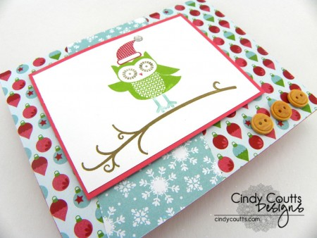 Santa Owl Side View