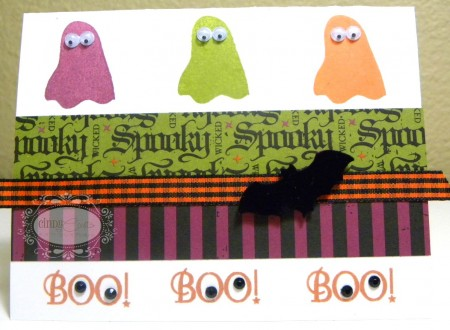 Boo Ghosts Card