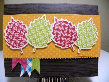 Fun Fall Leaves Card
